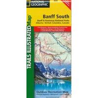 National Geographic Wandelkaart 900 Banff South