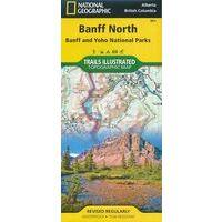 National Geographic Wandelkaart 901 Banff North & Yoho National Park