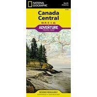 National Geographic Adventure Canada Centraal Adventure Map