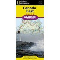 National Geographic Wegenkaart Canada Oost Adventure Map