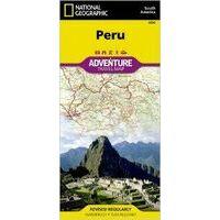 National Geographic Wegenkaart Peru