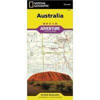 National Geographic Landkaart Australë Adventure Map