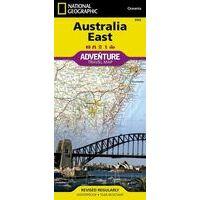 National Geographic Wegenkaart Australië Oost