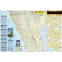 National Geographic Baja California Noord Adventure Map 1:450.000