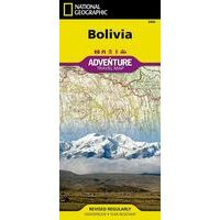 National Geographic Wegenkaart Bolivia