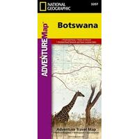 National Geographic Wegenkaart Botswana