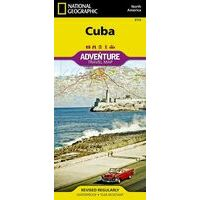 National Geographic Wegenkaart Cuba Adventure Map