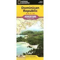 National Geographic Dominicaanse Republiek Adventure Map
