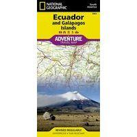 National Geographic Wegenkaart Ecuador