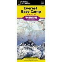 National Geographic Trekkingkaart Everest Base Camp