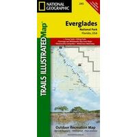 National Geographic Wandelkaart 243 Everglades National Park