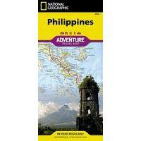 National Geographic Wegenkaart Filippijnen Adventure Map