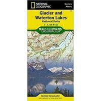National Geographic Wandelkaart 215 Glacier NP