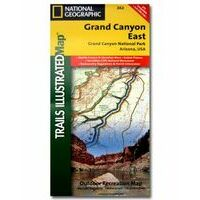 National Geographic Wandelkaart 262 Grand Canyon East