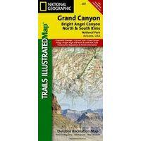 National Geographic Wandelkaart Grand Canyon
