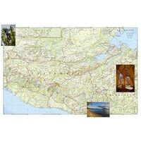 National Geographic Wegenkaart Guatemala