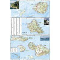 National Geographic Hawaiian Islands Adventure Set Kaart Plus Gids