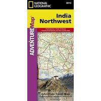 National Geographic Wegenkaart India Noordwest