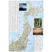 National Geographic Wegenkaart Japan Adventure Map