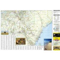 National Geographic Wegenkaart Kenia Adventure Map