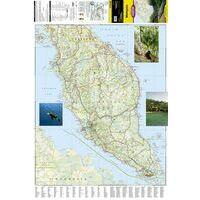 National Geographic Wegenkaart Maleisië Adventure Map