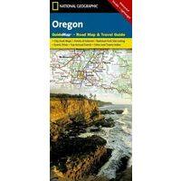 National Geographic Wegenkaart Oregon