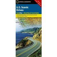 National Geographic Overzichtskaart USA Scenic Drives