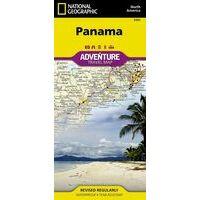 National Geographic Wegenkaart Panama