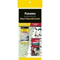 National Geographic Panama Adventure Set Kaart Plus Gids