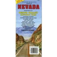 National Geographic Recreational Map Of Nevada