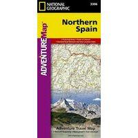 National Geographic Wegenkaart Spanje Noord Adventure Map