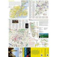 National Geographic Stadsplattegrond New York City