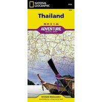 National Geographic Wegenkaart Thailand Adventure Map