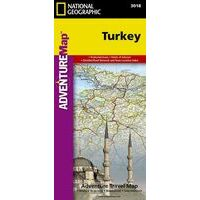 National Geographic Wegenkaart Turkije Adventure Map