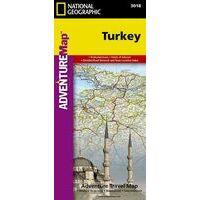 National Geographic Wegenkaart Turkije Adventure Map