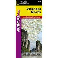 National Geographic Wegenkaart Vietnam Noord Adventure Map