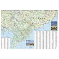 National Geographic Wegenkaart Vietnam Zuid Adventure Map