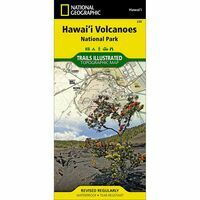 National Geographic Wandelkaart 206 Hawai'i Volcanoes National Park