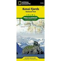 National Geographic Wandelkaart 231 Kenai Fjords National Park