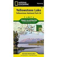 National Geographic Wandelkaart 305 Yellowstone Lake Southeast