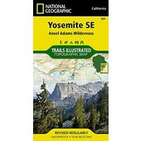 National Geographic Wandelkaart 309 Yosemite Southeast - Ansel Adams