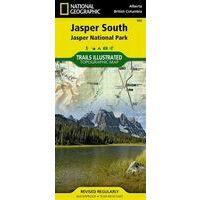 National Geographic Wandelkaart 902 National Park Jasper South