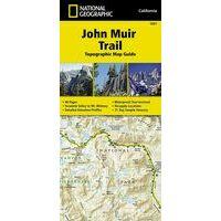 National Geographic Wandelkaartgids 1001 John Muir Trail