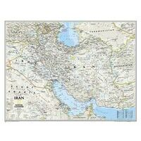 National Geographic Wandkaart Iran Classic 77 X 60 Cm