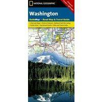 National Geographic Wegenkaart Washington Staat