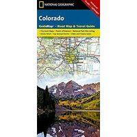 National Geographic Wegenkaart Colorado