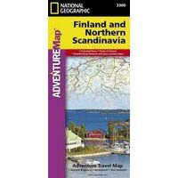 National Geographic Wegenkaart Finland & Scandinavië Noord