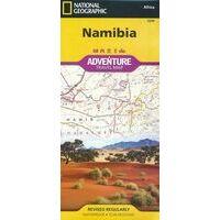 National Geographic Wegenkaart Namibië Adventure Map