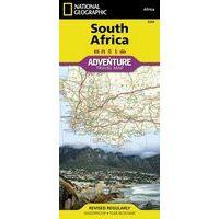National Geographic Wegenkaart Zuid-Afrika Adventure Map