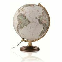 National Geographic Wereldbol Globe Executive Gold 30 Cm Engelstalig